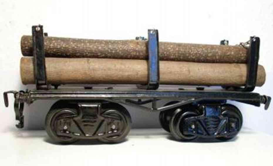 kraus-fandor 1311 l spielzeug eisenbahn langholzwagen spur 0