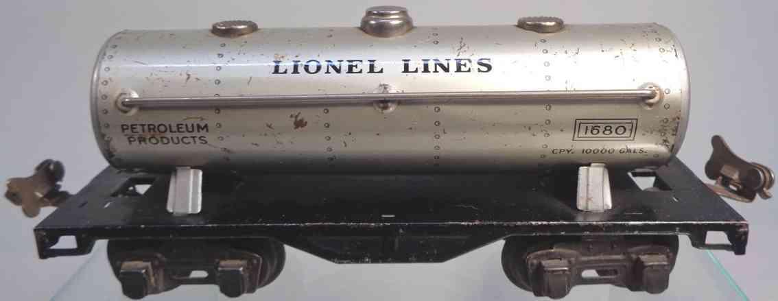 lionel 1680f spielzeug eisenbahn firestone kesselwagen silver spur 0