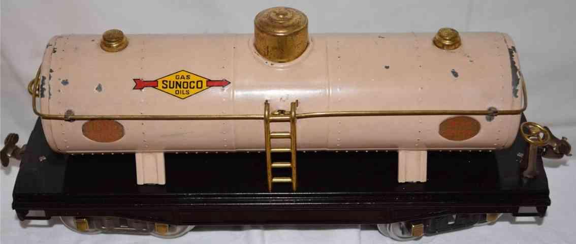 lionel 215  kesselwagen sunoco elfenbeinfarben standard gauge