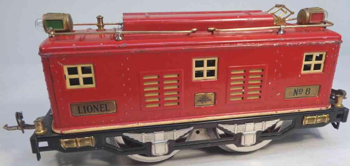 lionel 217 spielzeug eisenbahn caboose rot standard gauge