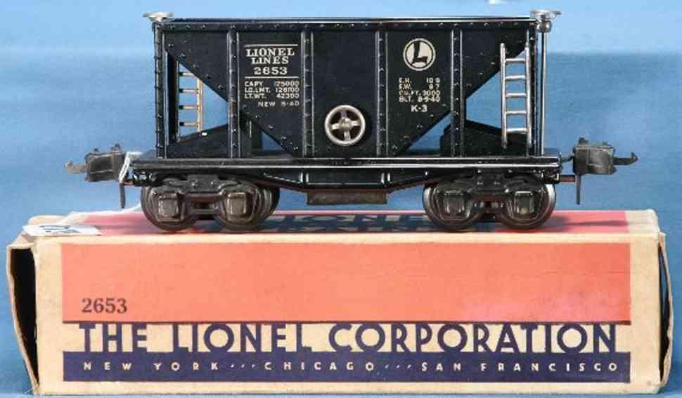 Lionel 2653 Schüttgutwagen
