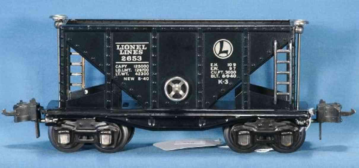Lionel 2653/III Güterwagen