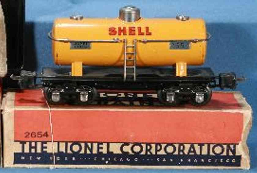 lionel 2654 spielzeug eisenbahn tankwagen in orange shell spur 0