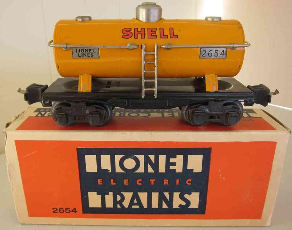 lionel 2654 spielzeug eisenbahn shell tankwagen in orange spur 0