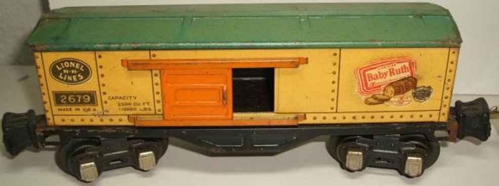 Lionel 2679 gedeckter Güterwagen