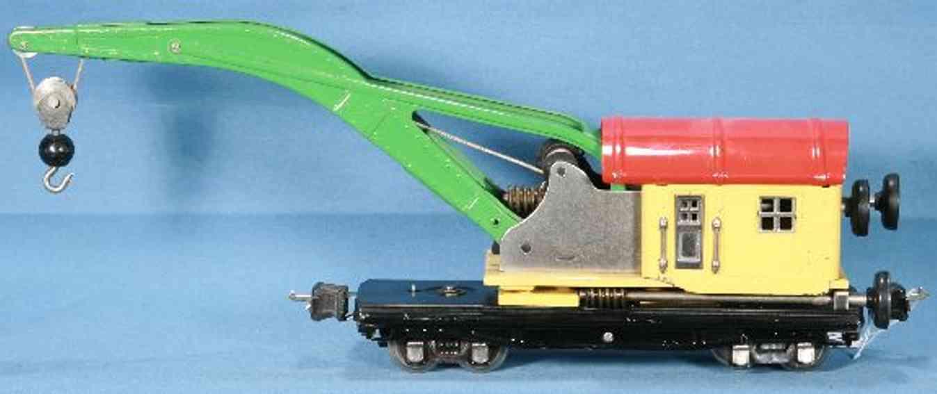 lionel 2810/I kranwagen cremefarbene kabine spur 0