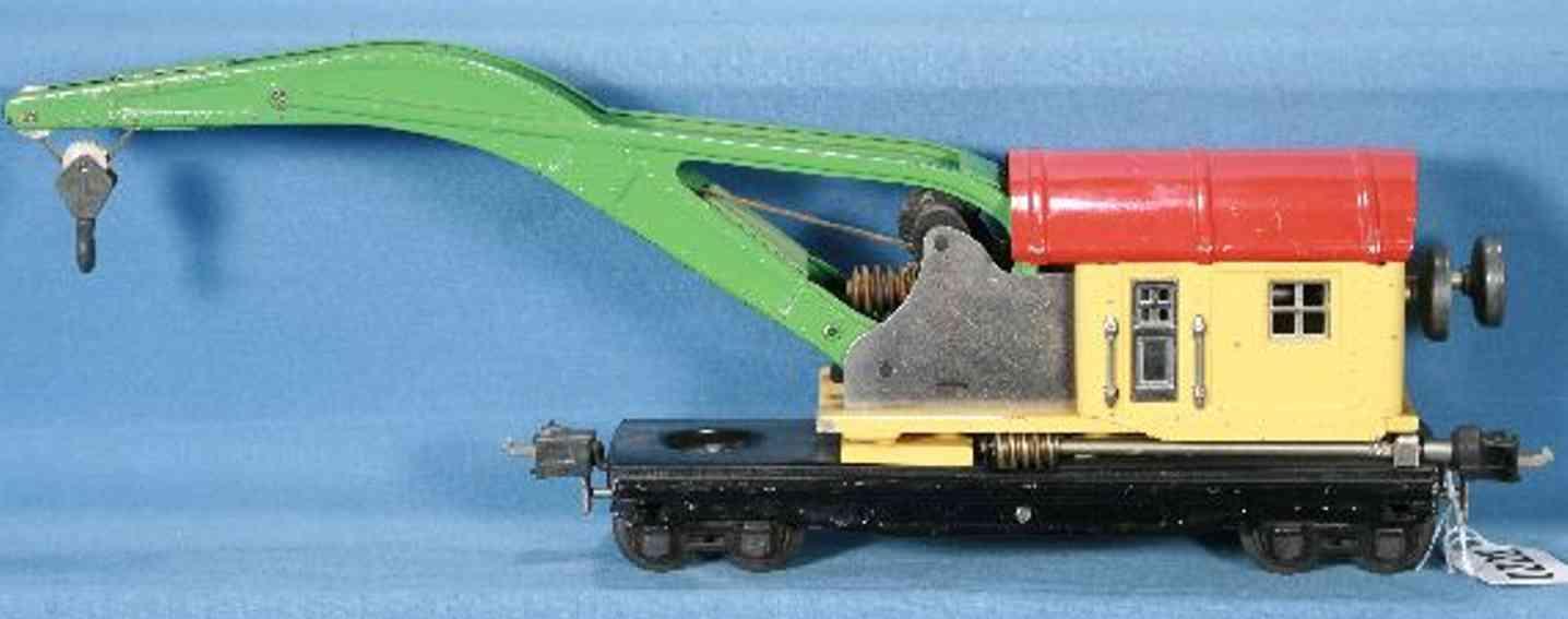 lionel 2810 type 3 kranwagen gelbe kabine spur 0