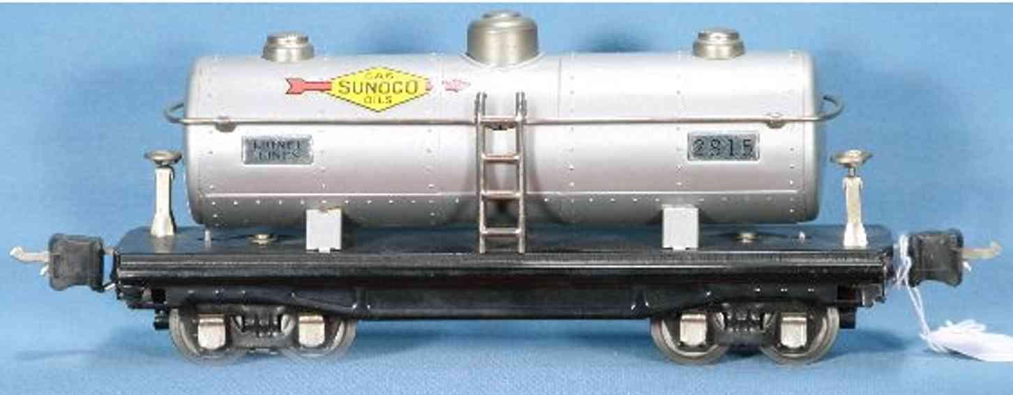 lionel 2815.1 spielzeug eisenbahn shell kesselwagen aluminium nickel spur 0