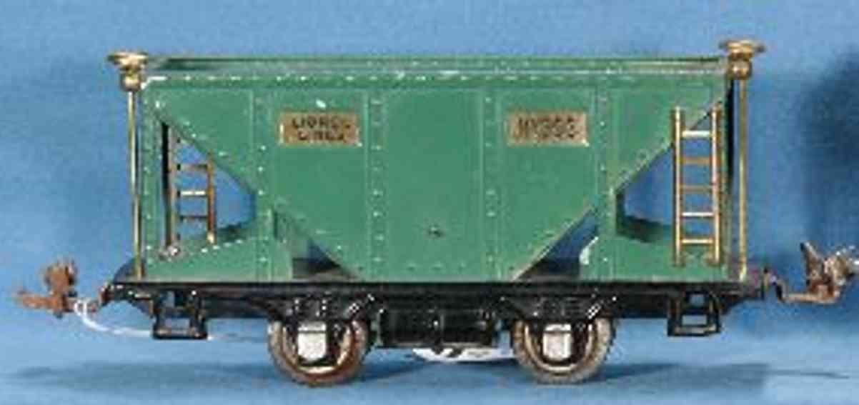 lionel 803 spielzeug eisenbahn schuettgutwagen spur 0