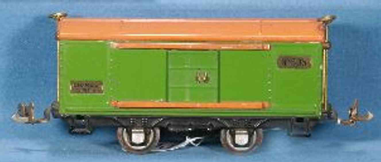 lionel 805 railway toy box car in pea green gauge 0