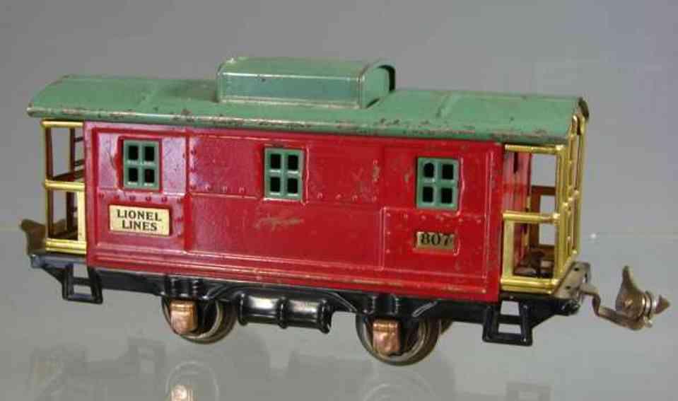 Lionel 807 Caboose
