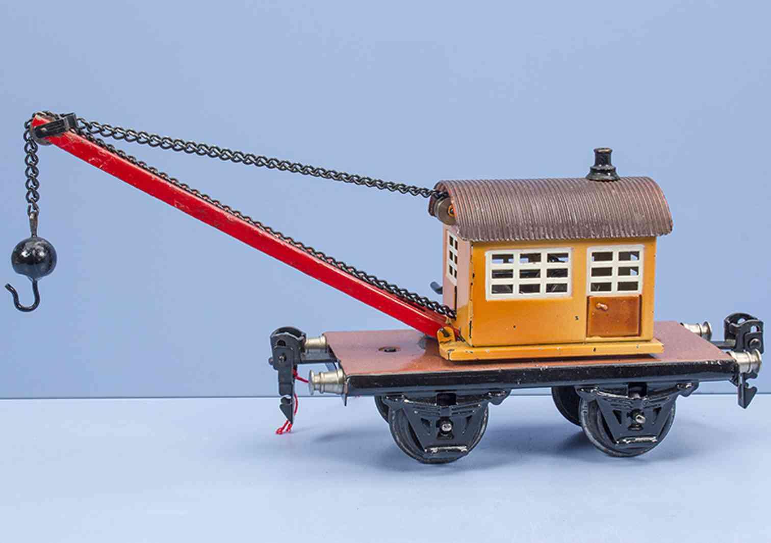 marklin 1668/0 railway toy crane truck gauge 0