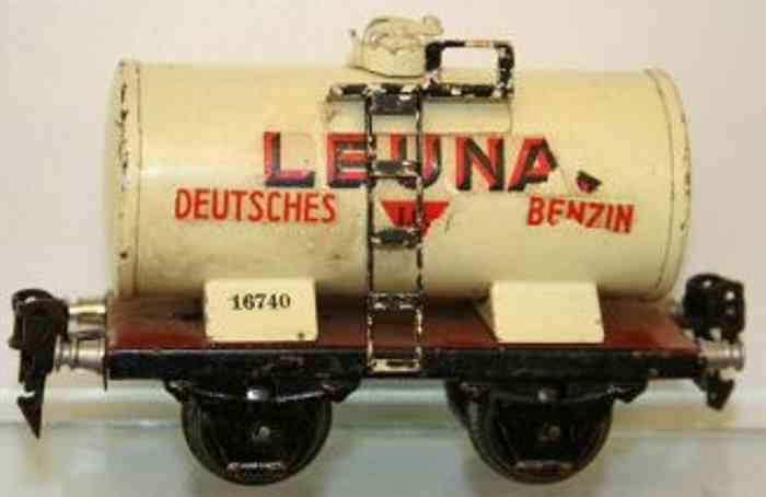 maerklin 1674/0 l eisenbahn kesselwagen leuna spur 0
