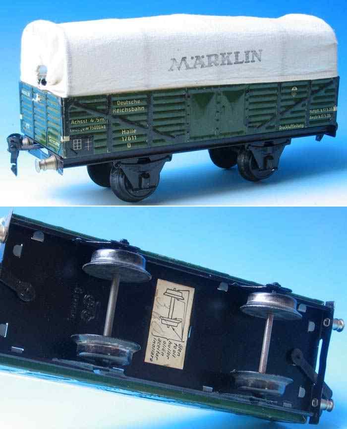 maerklin 1763/1 spielzeug eisenbahn planewagen grue süpur 1