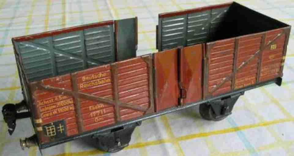 maerklin 1765/1 spielzeug eisenbahn hochbordwagen spur 1