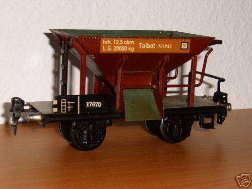 maerklin 1767/0 spielzeug eisenbahn talbot selbstentladewagen spur 0