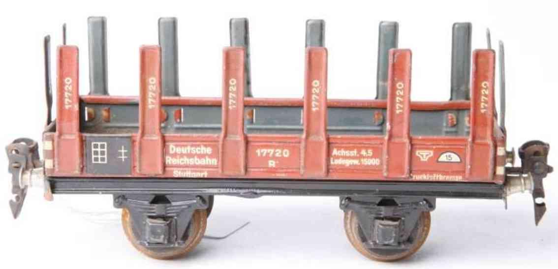 maerklin 1769/0 spielzeug eisenbahn rungenwagen spur 0