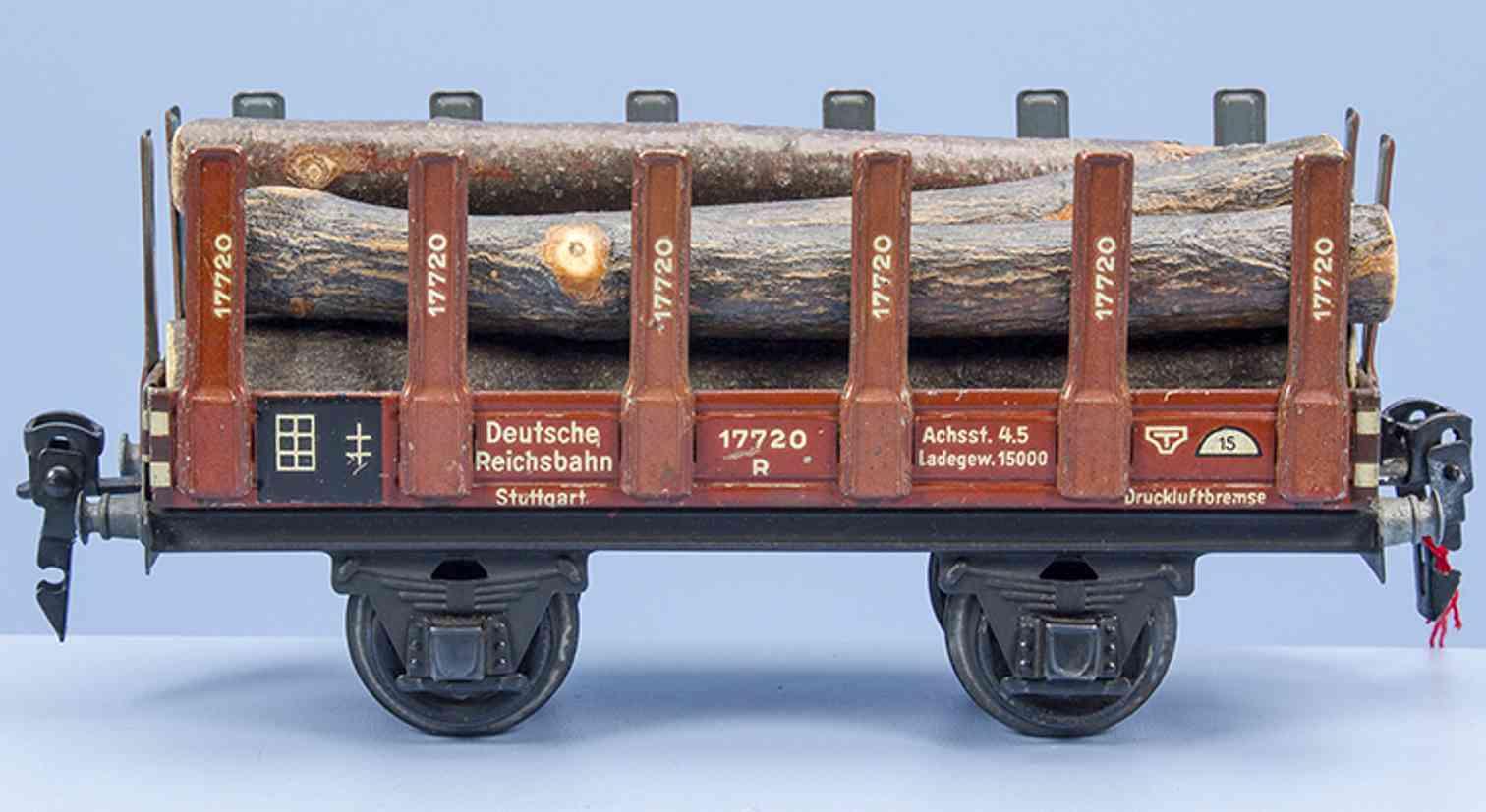 maerklin 1769/0 g spielzeug eisenbahn rungenwagen spur 0
