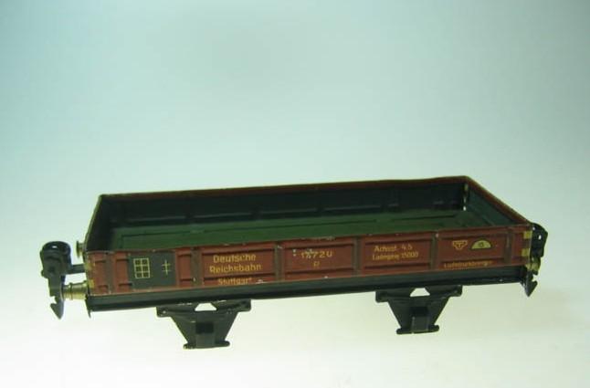 maerklin 1772/0 1764 spielzeug niederbordwagen ohne bremserhaus spur 0