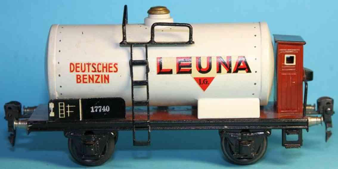 maerklin 1774/0 l spielzeug eisenbahn kesselwagen leuna spur 0