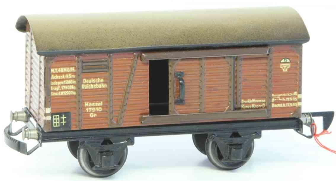 maerklin 1781/0 k spielzeug eisenbahn gedeckter gueterwagen spur 0