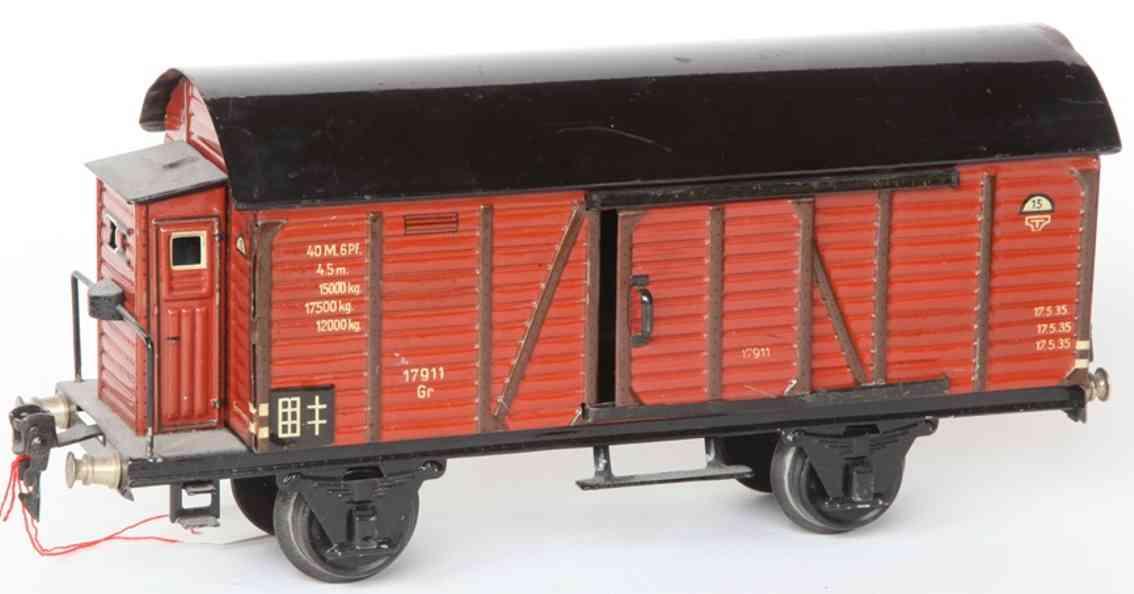 maerklin 1791/1 spielzeug eisenbahn gedeckter gueterwagen spur 1