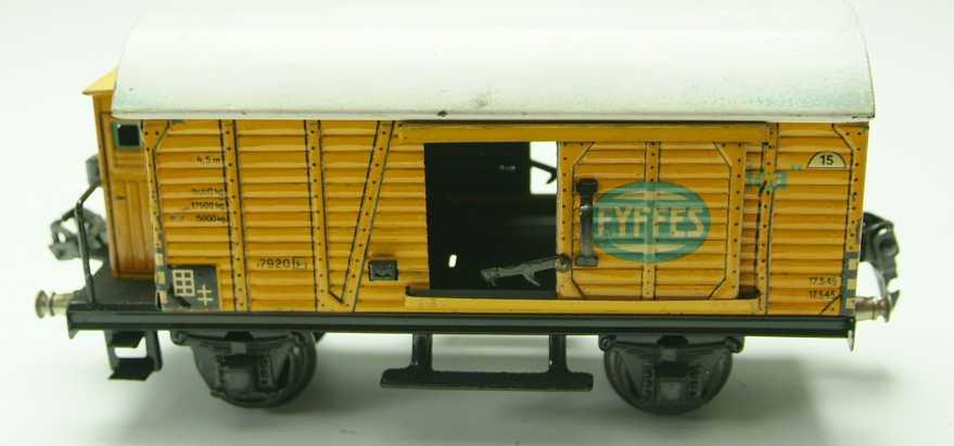 maerklin 1792/0 spielzeug eisenbahn bananenwagen gelbe spur 0