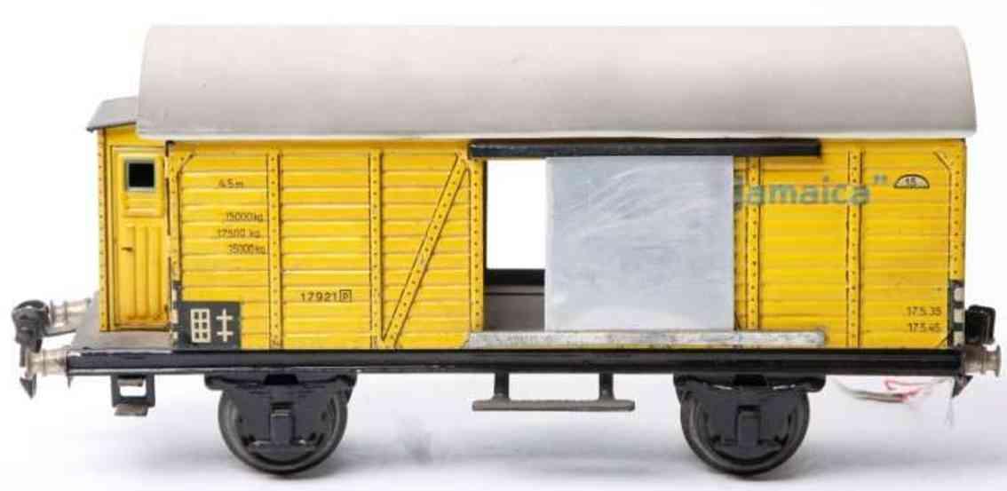 maerklin 1792/1 spielzeug eisenbahn bananenwagen spur 1