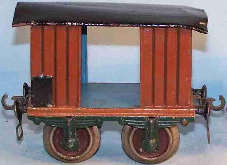 maerklin 1803/1 spielzeug eisenbahn gedeckter gueterwagen spur 1