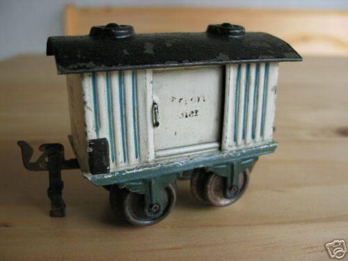 maerklin 1808/0 spielzeug eisenbahn bierwagen weiss schwarz spur 0