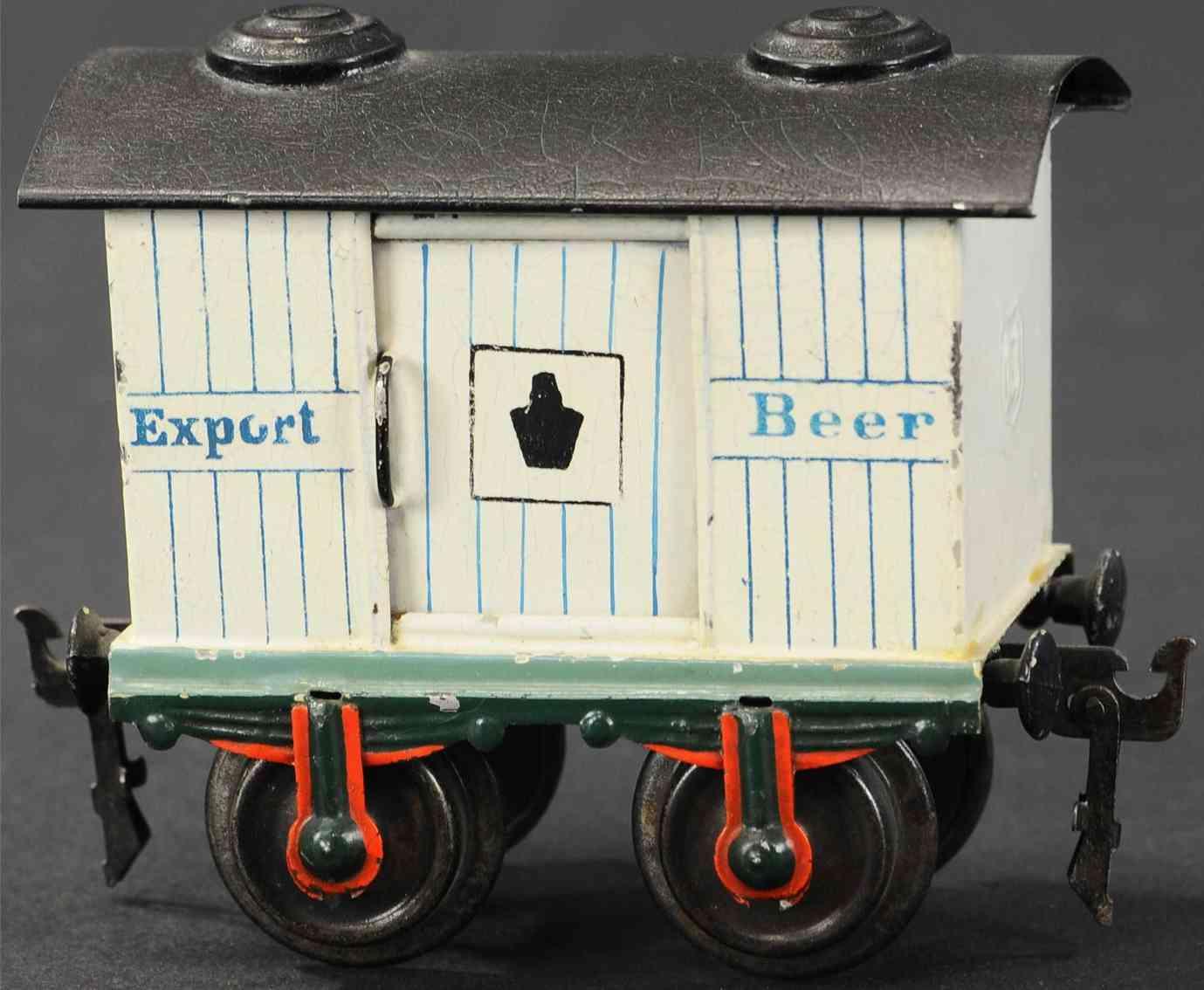 maerklin 1808/1 spielzeug eisenbahn bierwagen spur 1