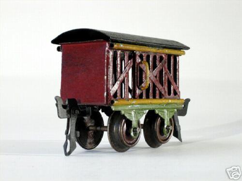 maerklin 1809/0 spielzeug eisenbahn viehwagen spur 0