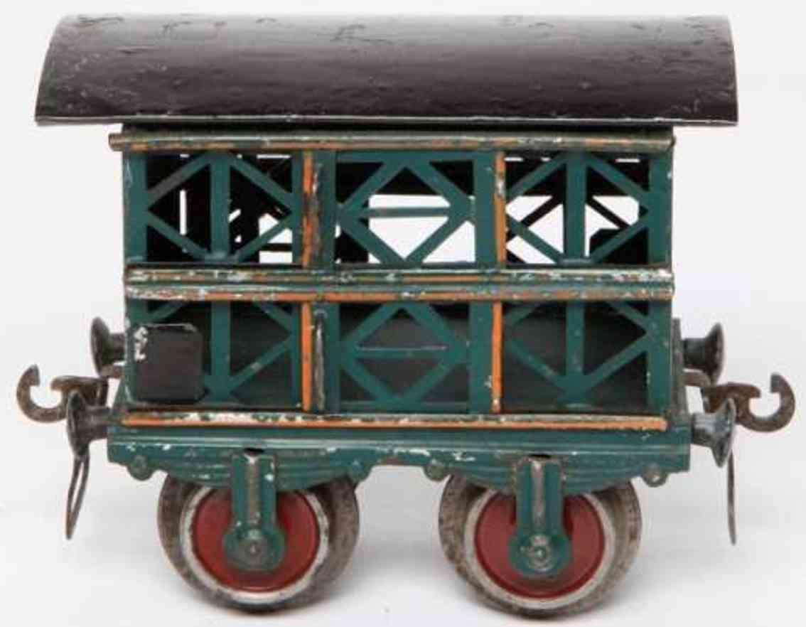 maerklin 1809/1 spielzeug eisenbahn kleintierwagen spur 1