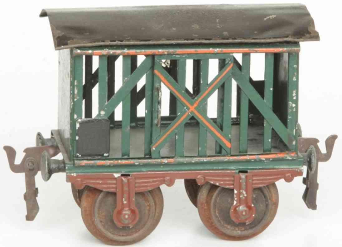maerklin 1809/1 spielzeug eisenbahn viehwagen spur 1