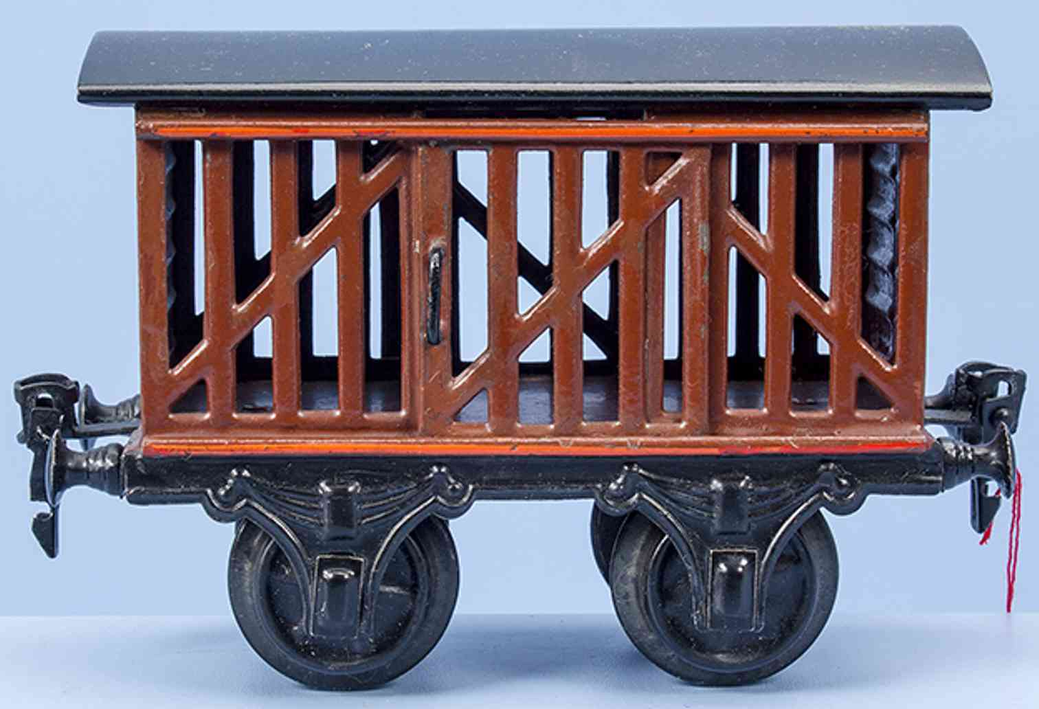 marklin maerklin 1809/1 braun 1905 railway toy fruit cart brown gauge 1