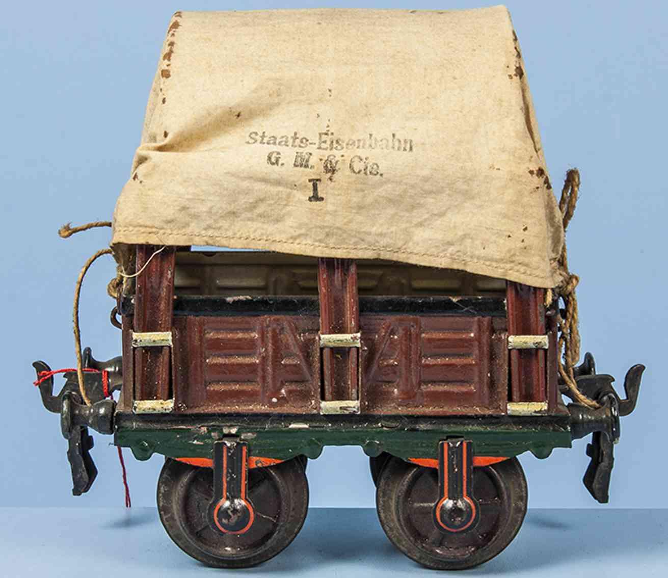 maerklin 1810/1 spielzeug eisenbahn planewagen spur 1