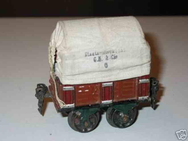 maerklin 1810/0 spielzeug eisenbahn planewagen spur 0