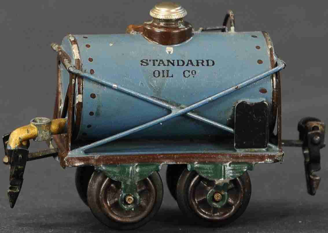 maerklin 1812/0 standard oil co petroleumwagen blau spur 0
