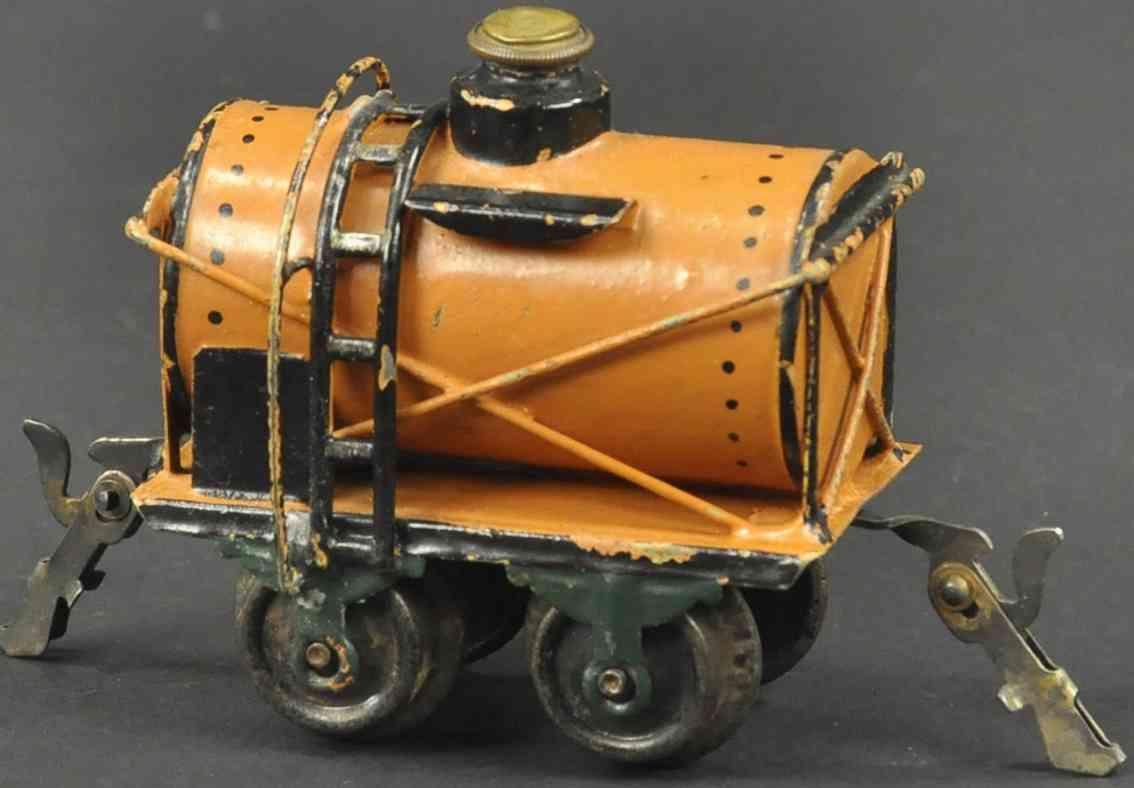 maerklin 1812/0 spielzeug eisenbahn petroleumwagen braun spur 0