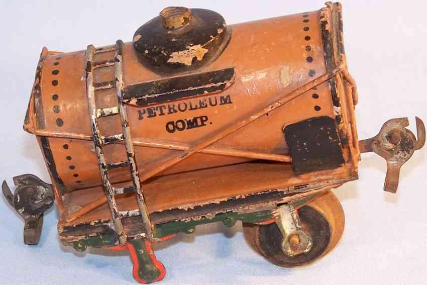 maerklin 1812/1 spielzeug eisenbahn petroleumwagen comp orange spur 1