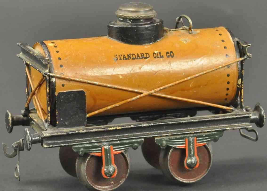 maerklin 1812/II eisenbahn petroleumwagen standard oil braun spur 2