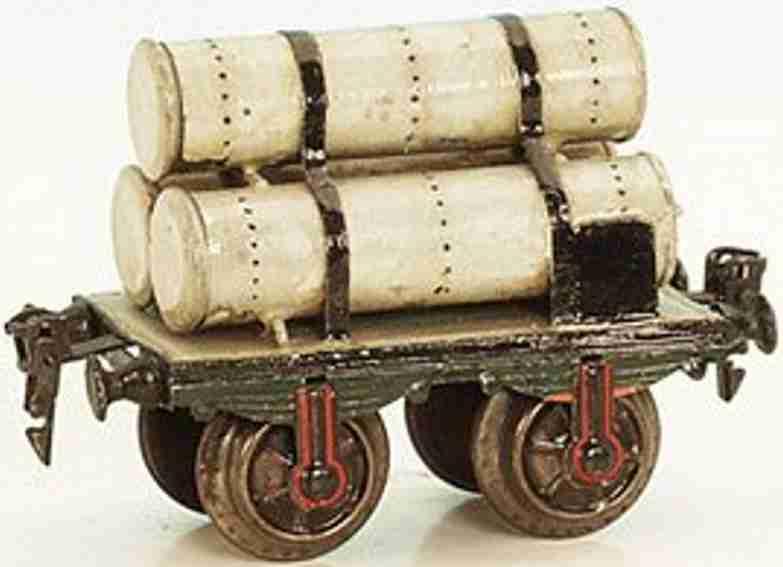 maerklin 1813/1 spielzeug eisenbahn gasroehrenwagen spur 1