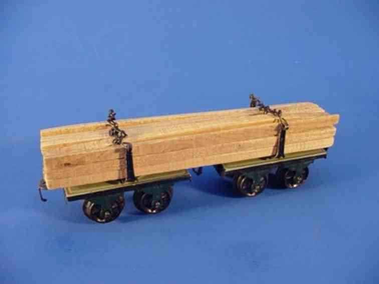 maerklin 1814/0 g spielzeug eisenbahn langholzwagen spur 0