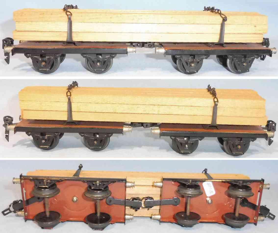 maerklin 1814/1 g spielzeug eisenbahn langholzwagen spur 1