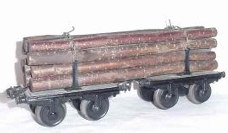 maerklin 1814/1 g langholzwagen drehschemelwagen spur 1