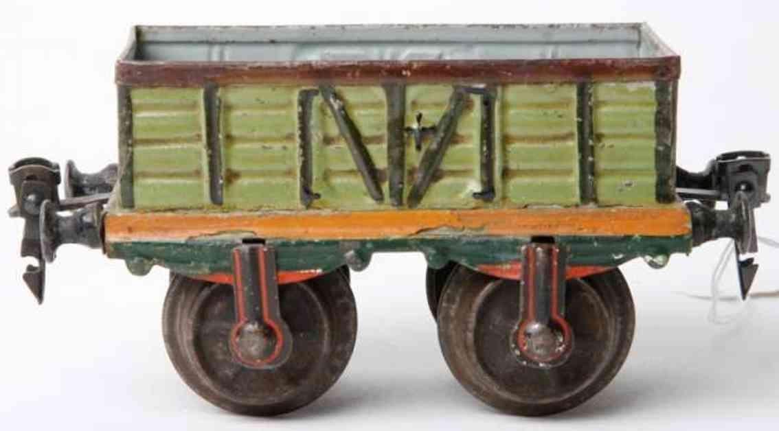 maerklin 1816/1 spielzeug eisenbahn offener gueterwagen spur 1