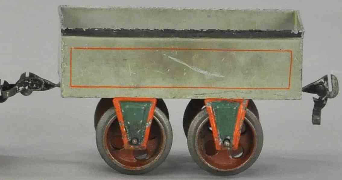 maerklin 1816/II 1895 spielzeug eisenbahn offener gueterwagen spur 2