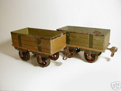 maerklin 1816/2 spielzeug eisenbahn offener gueterwagen spur 2