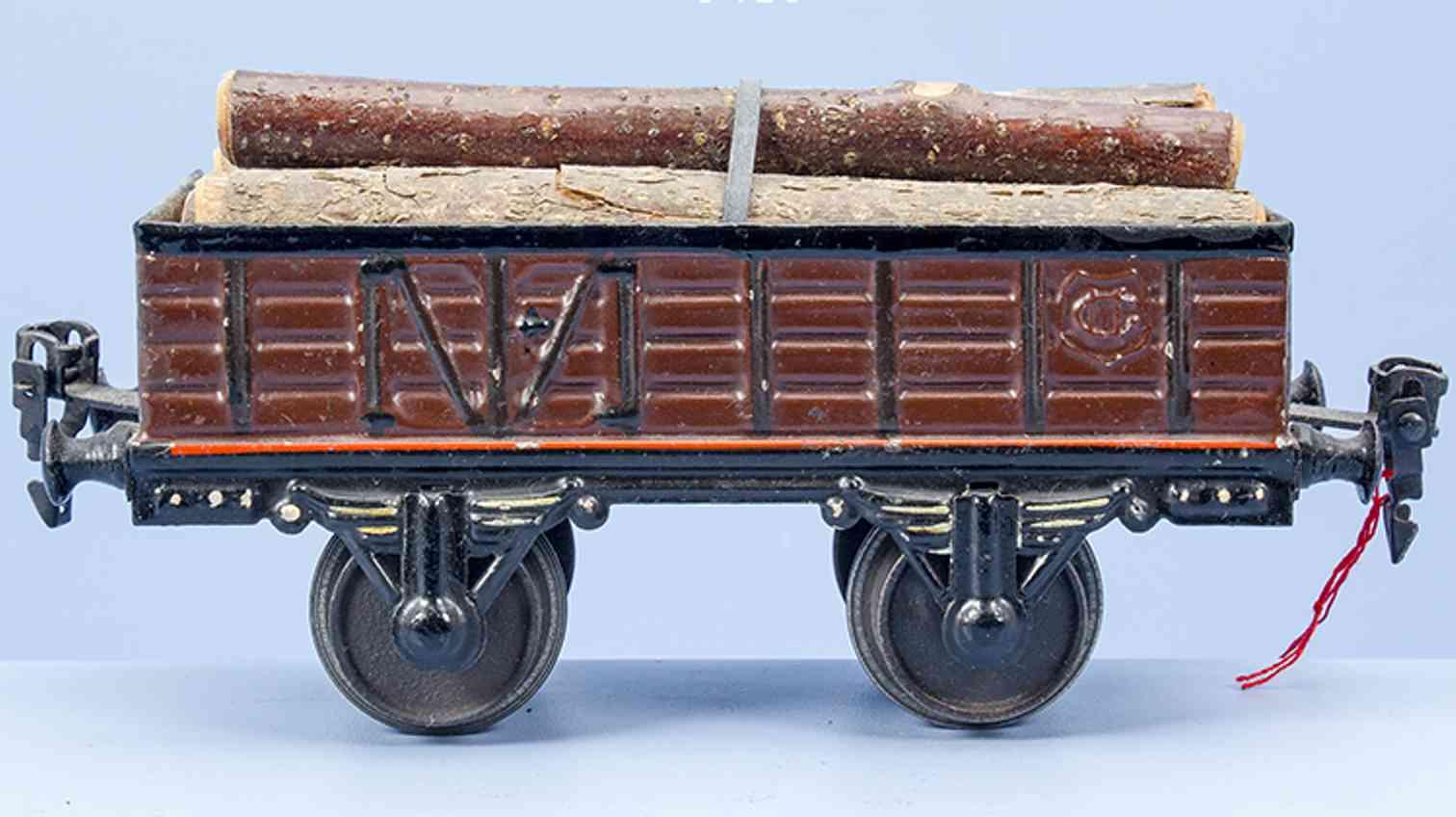 maerklin 1819/1 spielzeug eisenbahn hochbordwagen stammholz spur 1