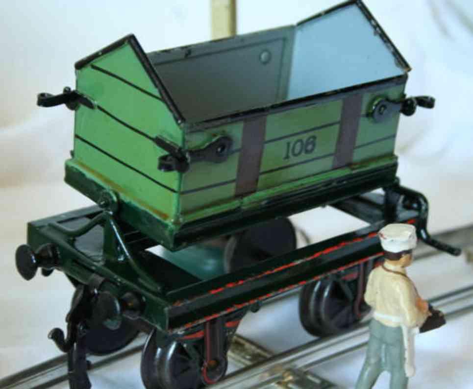 maerklin 1830/1 spielzeug eisenbahn kipplastwagen spur 1